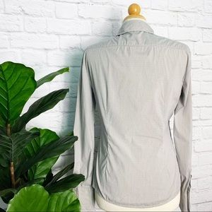 Miu Miu Tops - MIU MIU checkered button down career polo shirt